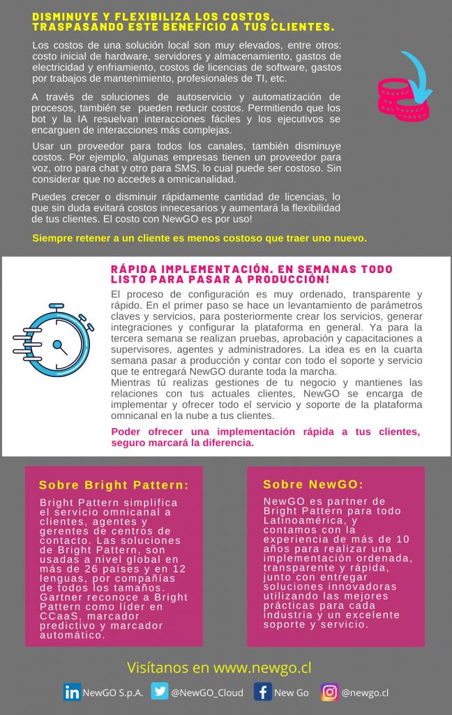 5 ventajas de Bright Pattern para los BPOs